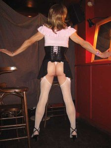 Enforced exposure, as a humiliating punishment from my Mistress!